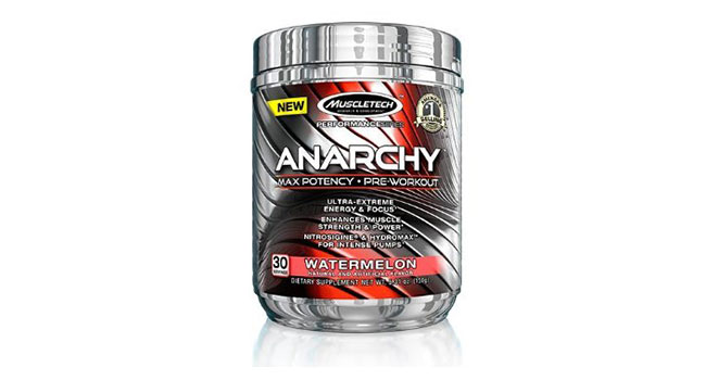Muscletech Anarchy – How potent is it?