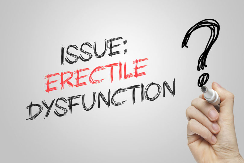3 most common causes of Erectile Dysfunction