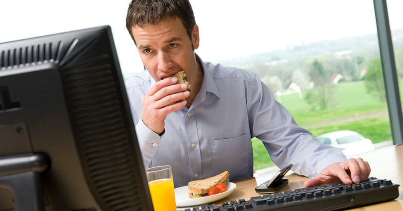 5 jobs that make employees gain weight