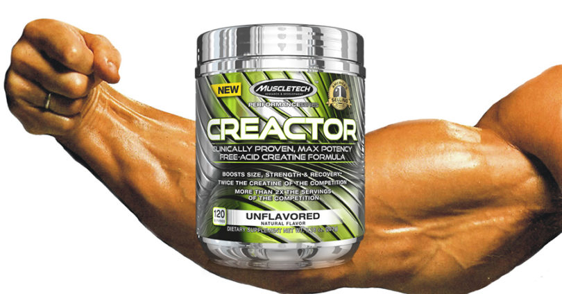 Creactor by Muscletech Review – Should you take it?