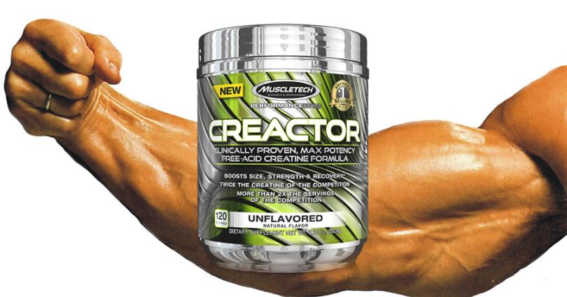 Creactor by Muscletech Review – Should you take it?