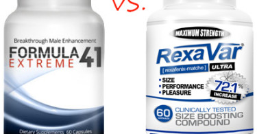 Formula41 Extreme Versus Rexavar Supplement Comparison Review