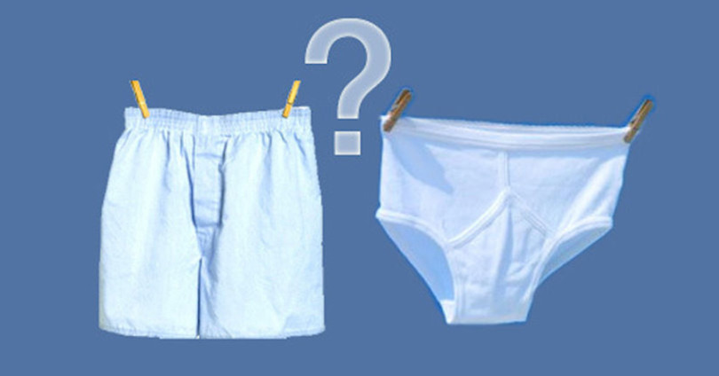 Briefs or Boxers? Which should you choose?