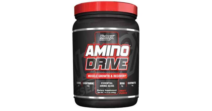 Nutrex Amino Drive Review – All you need to know
