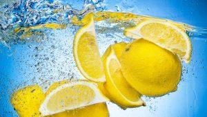 1b Lemon water
