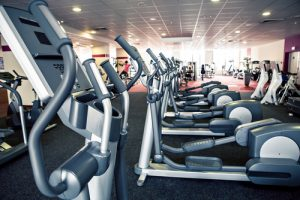 gym equipment, elliptical machine