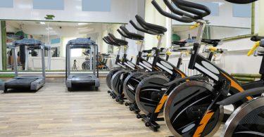 gym equipment, treadmill, stationary bike