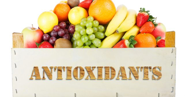 crate of fruit natural antioxidant sources