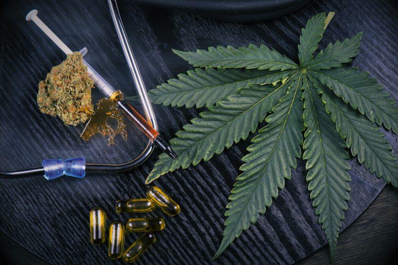 marijuana lead medical cannabis capsule