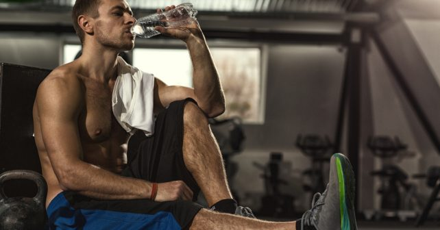 Male Rehydrating