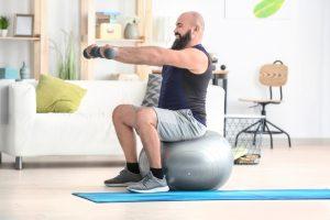 exercise ball home workout