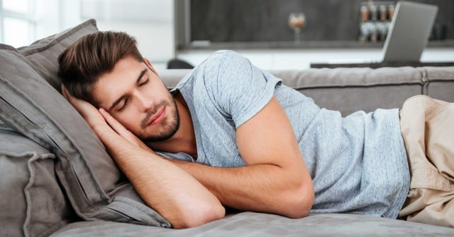 a relaxing sleep