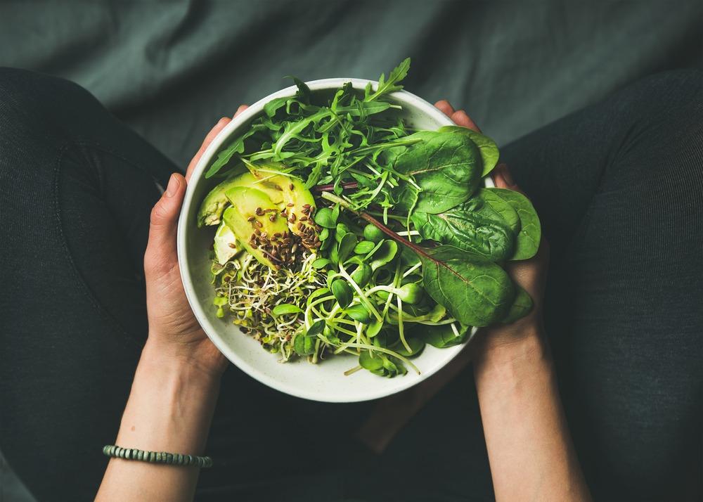 vegan vegetarian meal
