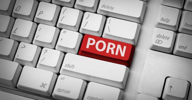 porn on keyboard